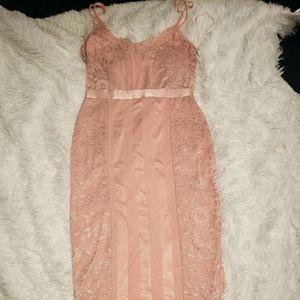 Pretty little thing midi dress